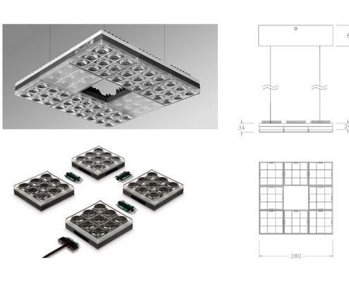 LIDL custom Luminaire – LDT Lighting Design Team